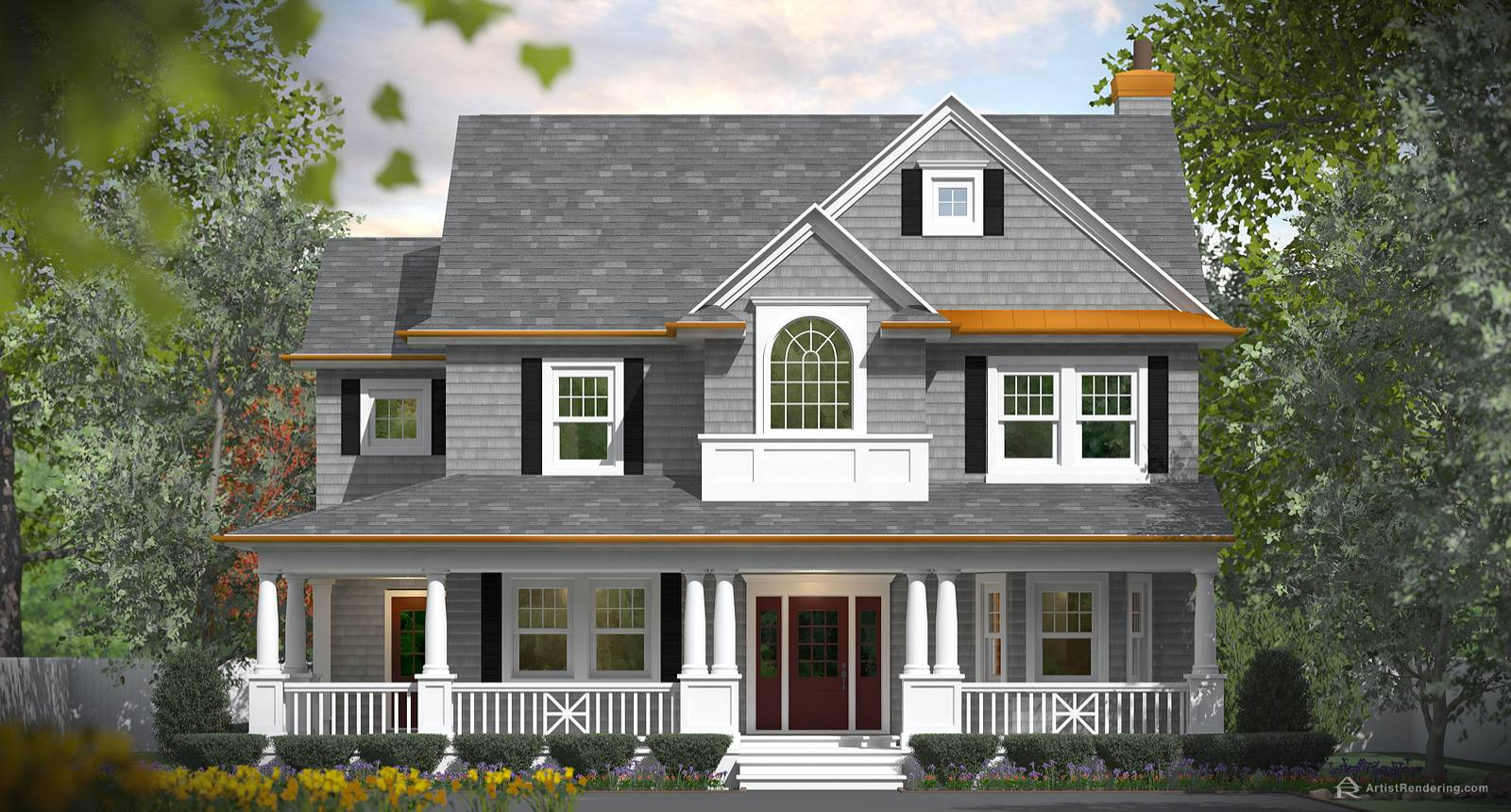 Residential Front Elevations