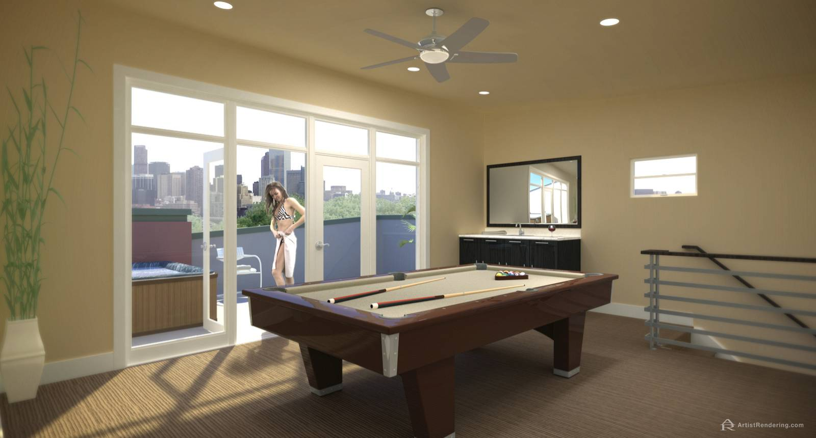 Residential Interior Renderings